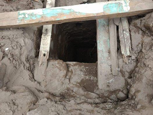 Tunel 2 Santiago Papasquiaro _ Tierra Mixta 2018